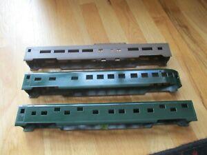 American Models 3x streamline passenger car shells   (7/20/21)