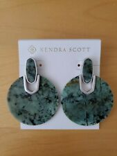 $130 Kendra Scott Didi Earrings In African Turquoise NWT