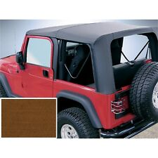 Rugged Ridge 13705.33 Replacement Soft Top Dark Tan 1997-2002 Jeep Wrangler TJ