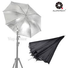 """Reflector Umbrella 33"""" Silver Studio Reflector Lighting Umbrella for Photography"""