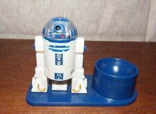 Disney Star Wars R2D2 egg cup figure blue robot novelty kids breakfast plastic