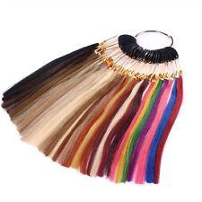 Farbring Muster aller Haarfarben für Extensions Echthaarverlängerung