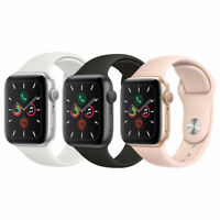 Apple Watch Series 5 40mm GPS - Aluminum Gold Space Gray Silver Smartwatch