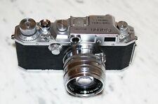 Canon IV SB Camera Leica clone + 50mm Canon f/1.8 M39 mount. Rangefinder UK sale