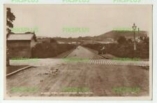OLD POSTCARD ALBERT ROAD LOWER HOUSE BOLLINGTON CHESHIRE REAL PHOTO USED 1937