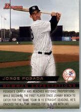 2010 Bowman Expectations #BE1 Jorge Posada/Jesus Montero - New York Yankees