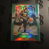 2019 Mikal Bridges Panini Prizm Green Holo Phoenix Suns SP NBA #99