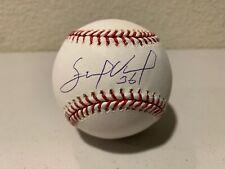 Edinson Volquez Signed Baseball Tristar