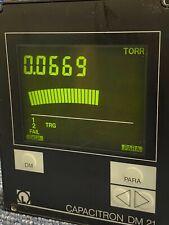 Leybold Capacitron Dm 21 Vacuum Gauge Controller