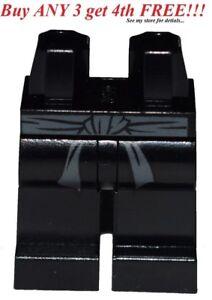 ☀️NEW Lego Legs Pants Black Gray Belt Pattern Ninjago MINIFIGURE MINIFIG