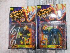 Ghost Rider & Ghost Rider 2 action figure Lot Flame Glow Details
