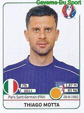 THIAGO MOTTA ITALIA ITALY PSG PARIS RARE UPDATE STICKER EURO 2016 PANINI