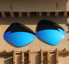 BVANQ Polarized Lenses Replacement for-Oakley Sliver XL OO9341 - Blue Mirror