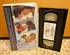 BIG BOY BLUE Depressed Teens parenting communication VHS counseling '95 conflict