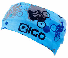 EIGO MOUNTAIN BIKING / CYCLE WEAR NECK TUBE SNOOD -BLUE twin pack