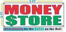 MONEY STORE Banner Sign NEW Larger Size Best Quality for the $$$