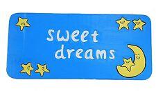 Holzschild sweet dreams 50cm für Kinderzimmer Baby Wandmaske Schild Hawaii Nacht