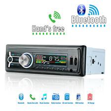 1DIN Car Radio Bluetooth Stereo Player MP3/USB/SD/FM In Dash iPod Head Unit