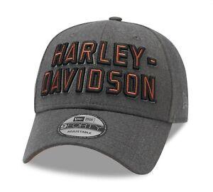 Harley Davidson New Era 9Forty Embroidered Graphic Cap, Adjustable, 99420-20VM