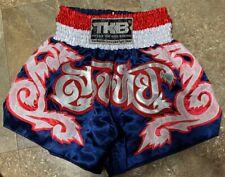 Top King Muay Thai Large L Fighting Boxing Kick Boxing Mma Shorts Trunks Red