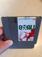Goal (Nintendo Entertainment System, 1989) NES Cleaned Tested Works