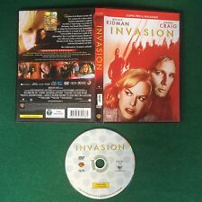 (Film DVD) INVASION Nicole Kidman Daniel Craig (2007) Sped GRATIS !!!