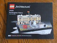 Lego Architecture Buckingham Palace 21029 Instruction Manual Only