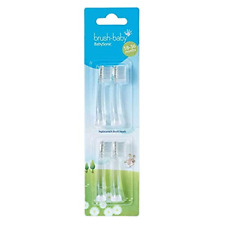 Brush-Baby Babysonic Replacement Heads for Babysonic Electric Toothbrush 18-36 4