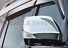 New OEM Infiniti QX56 QX80 Chrome Mirror Covers