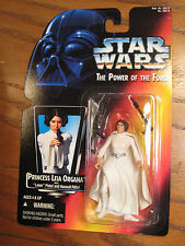 Star Wars / The Power of the Force - Princess Leia Organa Action Figure - 1995