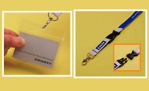 Visitor Pass Kit: PVC Holder & HID Identity Lanyard