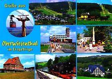 Oberwiesenthal im Erzgeb. , Ansichtskarte, 2015 gelaufen