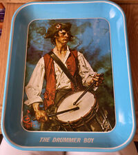 Vintage 1976 The Drummer Boy Limited Edition Metal Tray