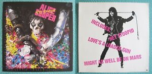 Vintage 1991 Epic Records Alice Cooper Hey Stoopid Record Store Poster Display