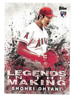 2018 Topps LITM-21 Shohei Ohtani Legends In The Making rookie RC card Angels
