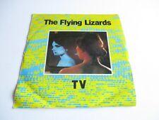 "THE FLYING LIZARDS TV/ Tube  Vinyl Single 7"" 45 RPM Record 1979 NEW"