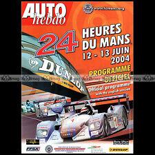 AUTO HEBDO N°1446-b PORSCHE 997 3.8 PROGRAMME OFFICIEL 24 HEURES DU MANS 2004