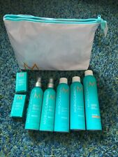 Moroccan Oil hair styling set w bag: hairspray, root boost, heat protect, oil BN