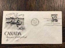 Canada 🇨🇦 Fdc - 1957 - Loon, Scott # 369, Artcraft