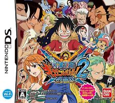 Used Nintendo DS One Piece: Gigant Battle 2 Shinsekai New World Japan Import、