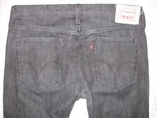 Levi's 507 Slim Boot Tagged 36/34 Actual Size 34 1/2 X 33 1/4 Men's Jeans Black