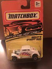 Matchbox, 1993 No.69 Willy's Street Rod White MONMC