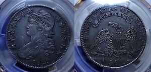 1829 Capped Bust Half Dollar 50c PCGS XF 45