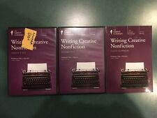 Teaching Co Great Courses - WRITING CREATIVE NONFICTION - Book and DVD's