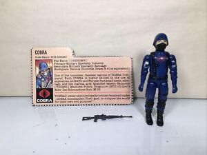 Very Nice! Vintage GI JOE ACTION FIGURE 1983 Cobra Soldier 100% Complete HASBRO
