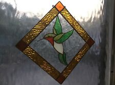 Stained glass tools Humming Bird pre-cut reusable pattern a