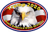 Vote for Trump 2020 Car Magnet Donald Trump's Make America Great