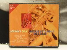 JOHNNY SAX - INDIMENTICABILI MELODIE BOX 2 CD COME NUOVO LIKE NEW
