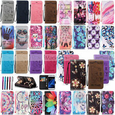 MDBF Design Leather Case Cover For Samsung Galaxy S5 S6 Edge S7 Edge J3 J5 +Pen