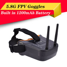 5.8G FPV Goggles 40CH Dual Antennas Monitor Video Glasses for RC Drone Camera